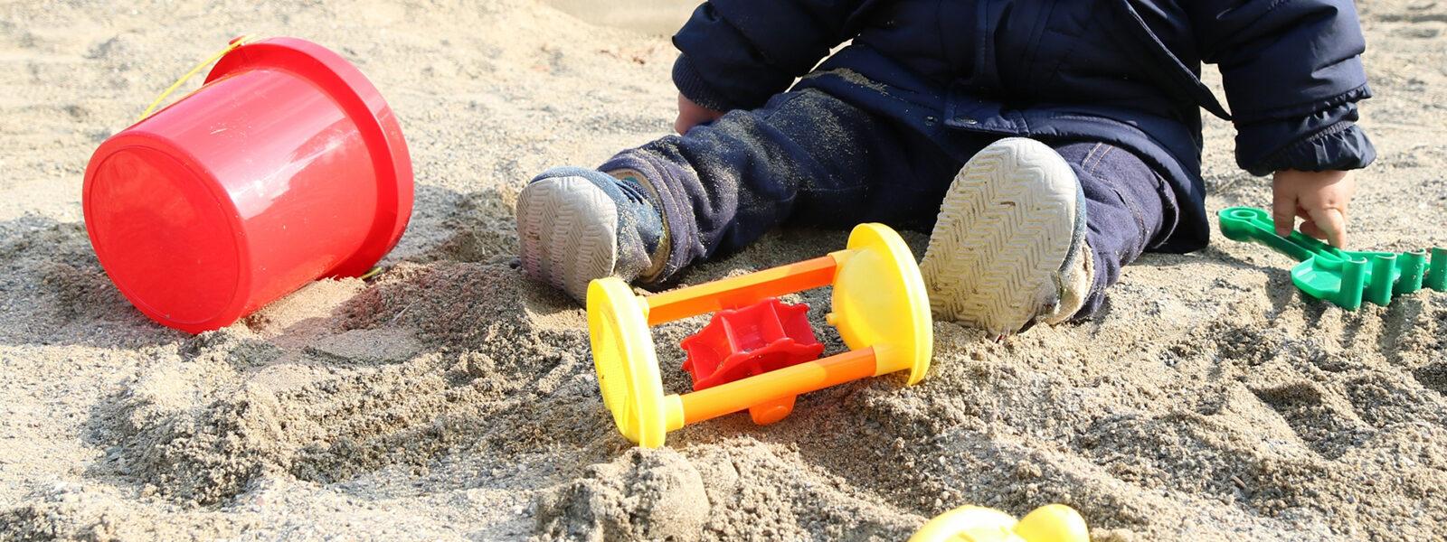 いつでも安心安全な砂場を目指して