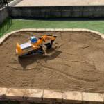 個人宅 砂場設置